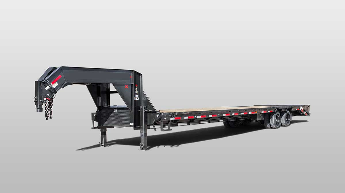 Supply of Gooseneck Terminal Trailers to transport heavy static material