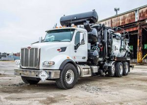 The supply of specialized high pressure jetting and vacuum trucks