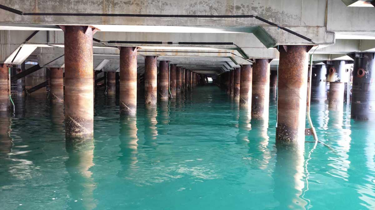 How UHDPE sleeves and epoxy coating helped extend marine pile longevity is Raysut