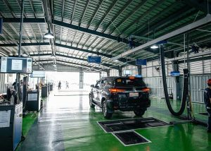 The supply, installation, commissioning and training of an advanced Motor Vehicle Inspection System (MVIS)
